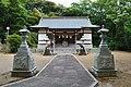 Sumiyoshi-jinja (Kechi, Tsushima), haiden.jpg