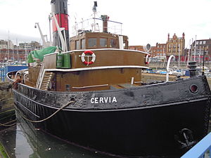 The Steam Tug Cervia