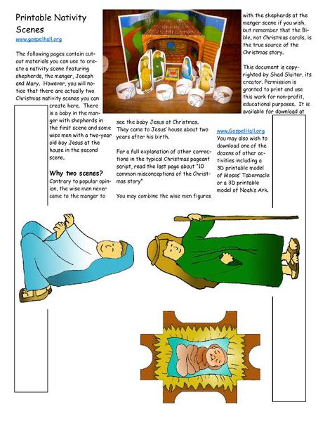 File:Sunday School Lesson Activity 502 The Birth of the Lord Jesus - Printable Nativity Scenes.pdf