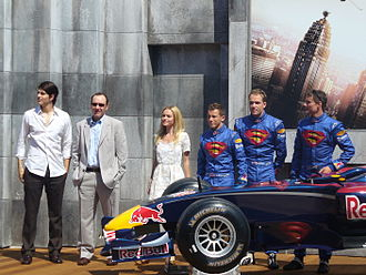 Superman Returns - Image: Superman Red Bull