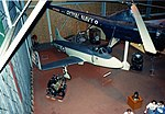 Supermarine Attacker Supermarine Attacker F.Mk.I Fleet Air Air Museum Yeovilton 1984 (16958597928).jpg