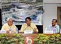 Suresh Prabhakar Prabhu addressing at of the signing of the Development Agreement for the redevelopment of Habibganj Station in Bhopal.jpg