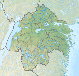 Sweden Östergötland relief location map.png