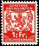 Switzerland Bremgarten 1940 revenue 1Fr - 25.jpg