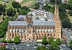 Sydney (AU), View from Sydney Tower, St Mary's Cathedral -- 2019 -- 3141.jpg