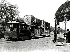 Sydney Steam Motor Tram - Image: Sydney tram, c.1885 (5792275734)