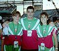 Tóth Beatrix Gyulay Zsolt Kocsis Erzsébet Atlanta 1996.jpg