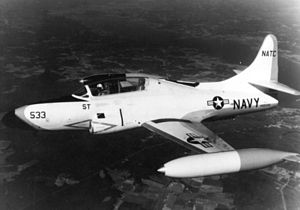 Lockheed T2V SeaStar - Lockheed T-1A Seastar in 1965