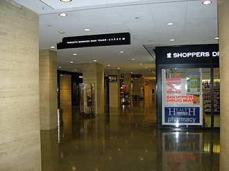 Toronto–Dominion Centre - Image: TD Center shopping concourse near Canoe elevators