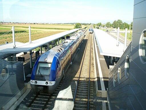 TER Alsace Ligne StDié Entzheim versStDié