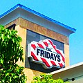 TGI Fridays Restaurant 6 2014 Waterbury CT. TGI Friday's Logo Sign pic by Mike Mozart of TheToyChannel and JeepersMedia on YouTube. -TGIFridays -Fridays -TGIFridaysRestaurant -TGIFridaysSign -TGIFridaysLogo -TGI -Fridays (14326723336).jpg
