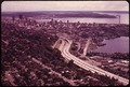 THE CITY OF SEATTLE AND INTERSTATE HIGHWAY 5. ELLIOTT BAY AT RIGHT - NARA - 552233.tif