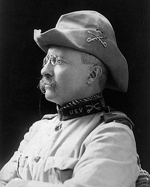 Roosevelt's World War I volunteers - Col. Theodore Roosevelt in Rough Rider uniform