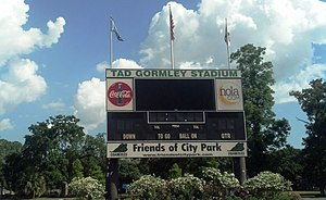 Tad Gormley Stadium - Image: Tad Gormley Stadium (New Orleans, LA) Scoreboard