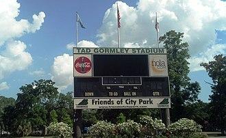 Tad Gormley Stadium - Image: Tad Gormley Stadium (New Orleans, LA) Scoreboard