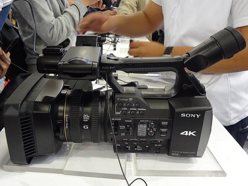 Berkas:Taipei IT Month Sony FDR-AX1 20131130 2.jpg