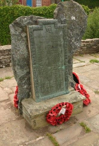 Talgarth - Talgarth War Memorial