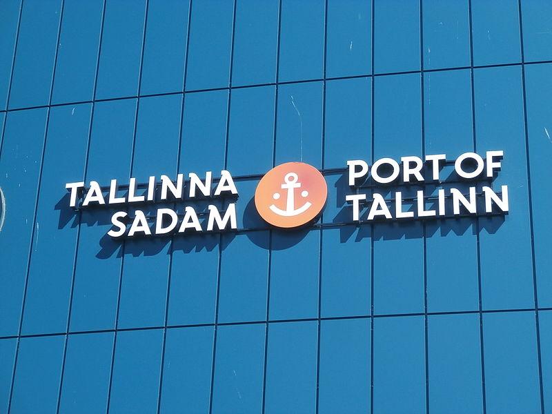 File:Tallinna Sadam Logo Port of Tallinn 10 August 2015.JPG