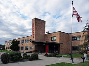 Tamarac Secondary School Central School District located outside Troy, New York