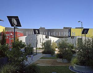 David Baker (architect) - Tassafaronga Village LEED Platinum affordable housing in Oakland, California