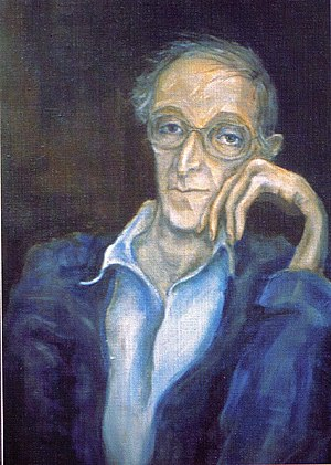 Aleksandr Lokshin - Portrait of the Composer Aleksandr Lokshin by Tatyana Apraksina, 1987.