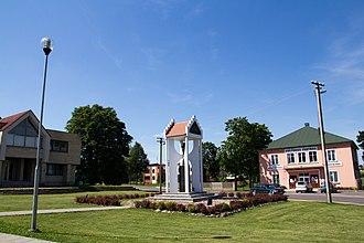 Tauragnai - Town centre