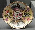 Tea service, view 3, c. 1745, Meissen, hard-paste porcelain, overglaze enamels, gilding - Gardiner Museum, Toronto - DSC00892.JPG