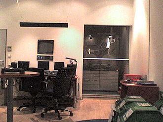 Color suite - A Shadow Telecine in a color correction suite.