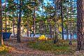 Tent at Gömmaren, Huddinge (Stockholm) - panoramio.jpg