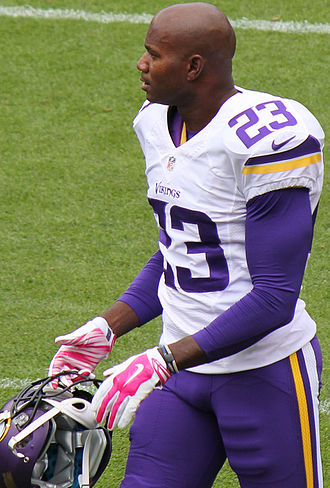 Terence Newman - Newman with the Vikings in 2015