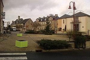 La place du marché (Tessy-sur-Vire)