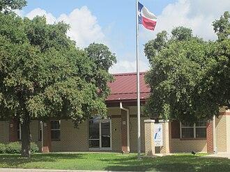 La Pryor, Texas - Texas Department of Transportation office in La Pryor