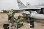 Thai Airmen Rehearse CBRN drill on Hornets 140214-M-BZ918-667.jpg