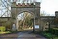 Thame Park, Tradesman Entrance - geograph.org.uk - 1146758.jpg