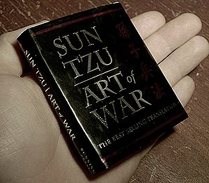 The Art of War - Running Press miniature edition of the 1994 Ralph D. Sawyer translation, printed in 2003