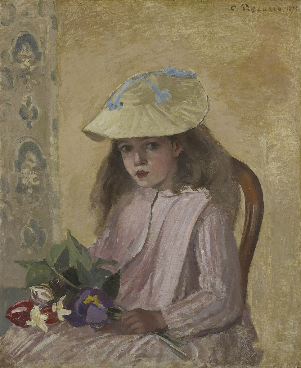 The Artist's Daughter by Camille Pissarro 1872.jpeg