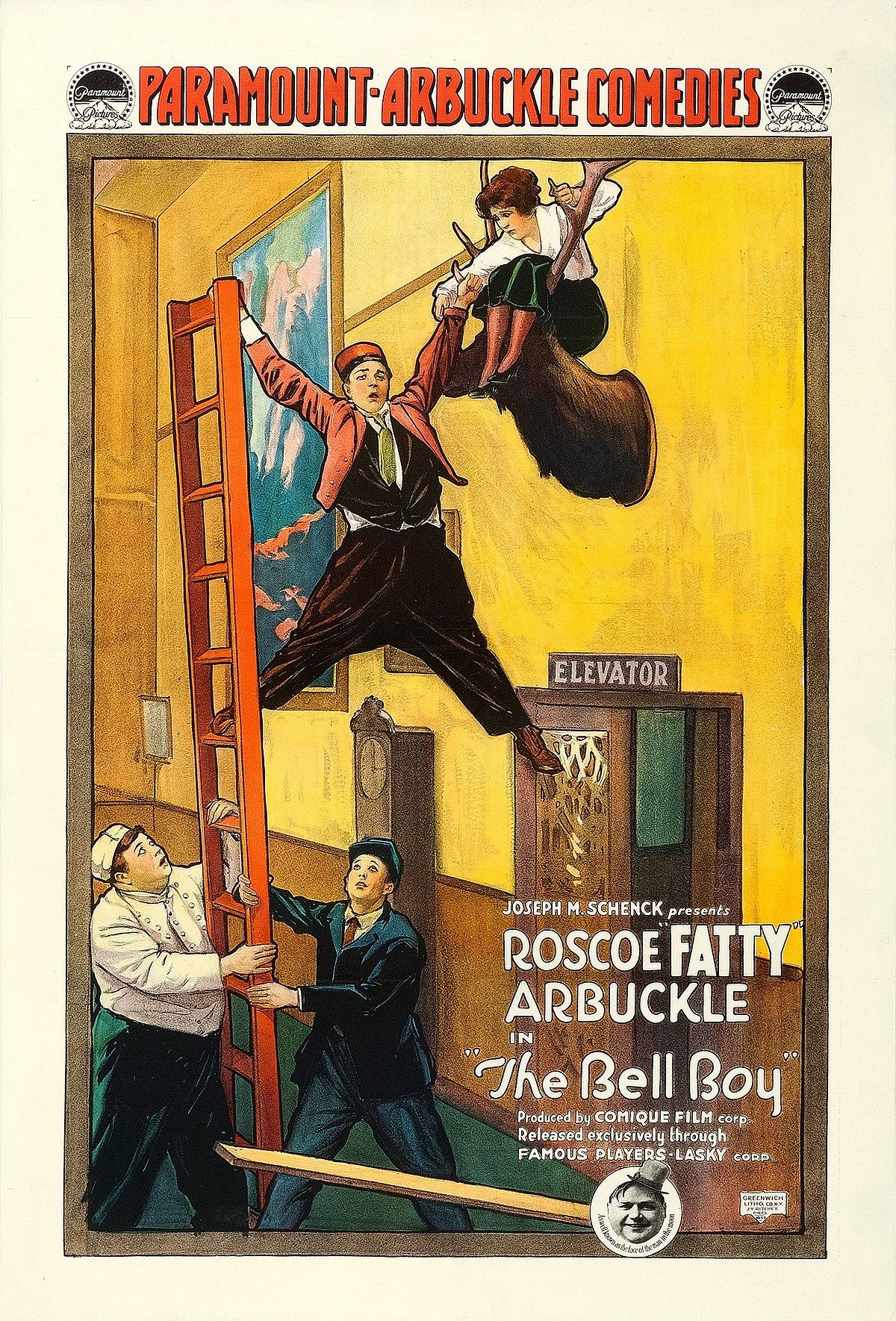 Image result for the bellboy 1918
