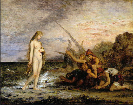 The Birth of Venus by Gustave Moreau