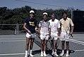 The Bushes playing tennis.jpg