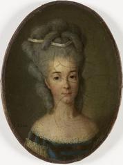 Portrait de Louise-Marie-Thérèse-Bathilde d'Orléans, duchesse de Bourbon