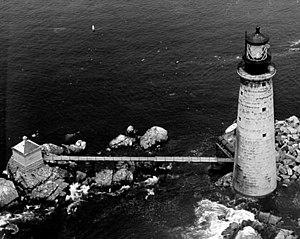 The Graves Light - US Coast Guard photo