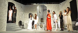 "The House of Bernarda Alba - The House Of Bernarda Alba by the senior generation of Hamazkayin ""Arek"" Theatre."