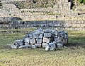 The House of the Spiny-tailed Iguana, Uxmal, Mexico.jpg