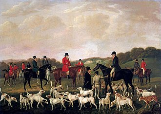 Llanharan - 'Llanharran Hunt' (1840)
