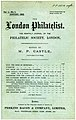 The London Philatelist first edition.jpg