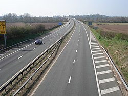 The M50 motorway near Ripple - geograph.org.uk - 453058.jpg