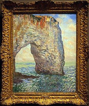 Les XX - La Manneporte à Étretat, Claude Monet