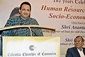 The Minister of State for Skill Development & Entrepreneurship, Shri Anantkumar Hegde addressing at a session of Calcutta Chamber of Commerce, in Kolkata on June 20, 2018.JPG