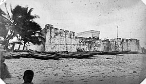 Anomabu - Fort William in the 1870s