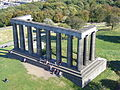 The National Monument from the Nelson Monument, Calton Hill.jpg